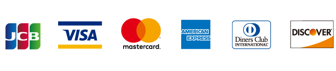 ご利用できるクレジットカードの種類(オンラインショップ)